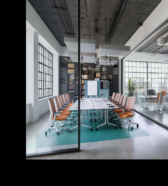 HOLI.E Concept - Aménagement espace de travail - espace réunion
