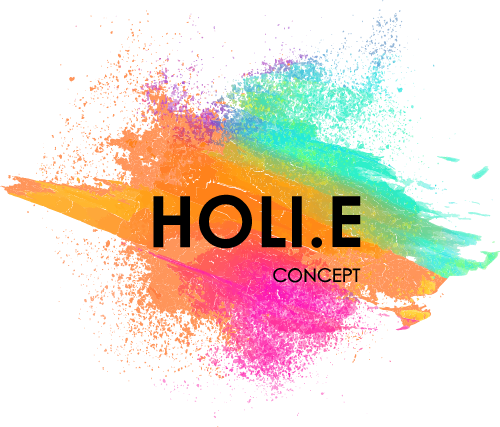 HOLI.E Concept - Aménagement espace de travail - logo principal