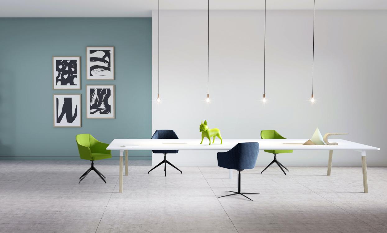 HOLI.E Concept - Aménagement espace de travail - table de réunion 02