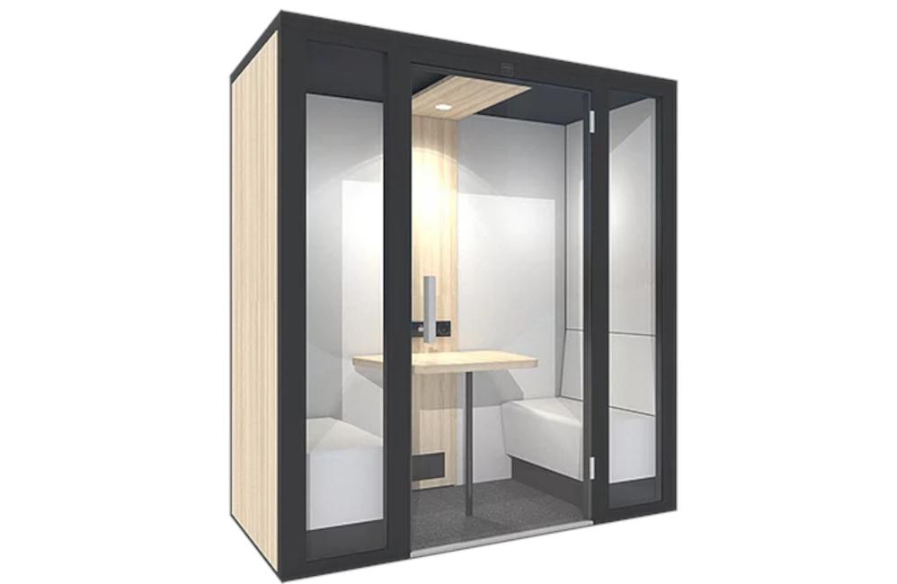 HOLI.E Concept - Aménagement espace de travail - Cabine acoustique 2 places