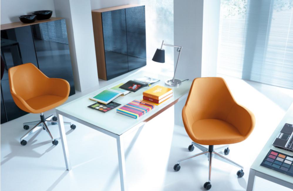 HOLI.E Concept - Aménagement espace de travail - Chaise bureau teletravail roulettes