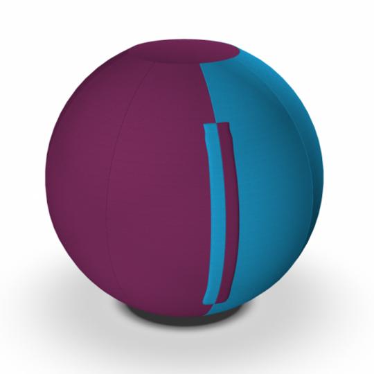 HOLI.E Concept - Aménagement espace de travail - Ballon ergonomique assise d'appoint jimball