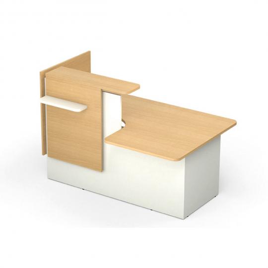 HOLI.E Concept - Aménagement espace de travail - Banque d'accueil GRETA