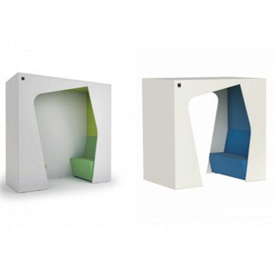 HOLI.E Concept - Aménagement espace de travail - Box acoustique, cabine KOMUNIKUBE