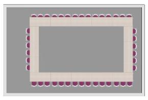 HOLI.E Concept - Aménagement espace de travail - Proposition agencement espace plans 2D