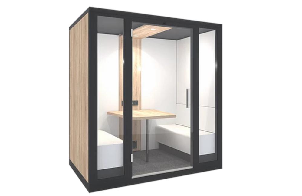 HOLI.E Concept - Aménagement espace de travail - Cabine acoustique 4 places