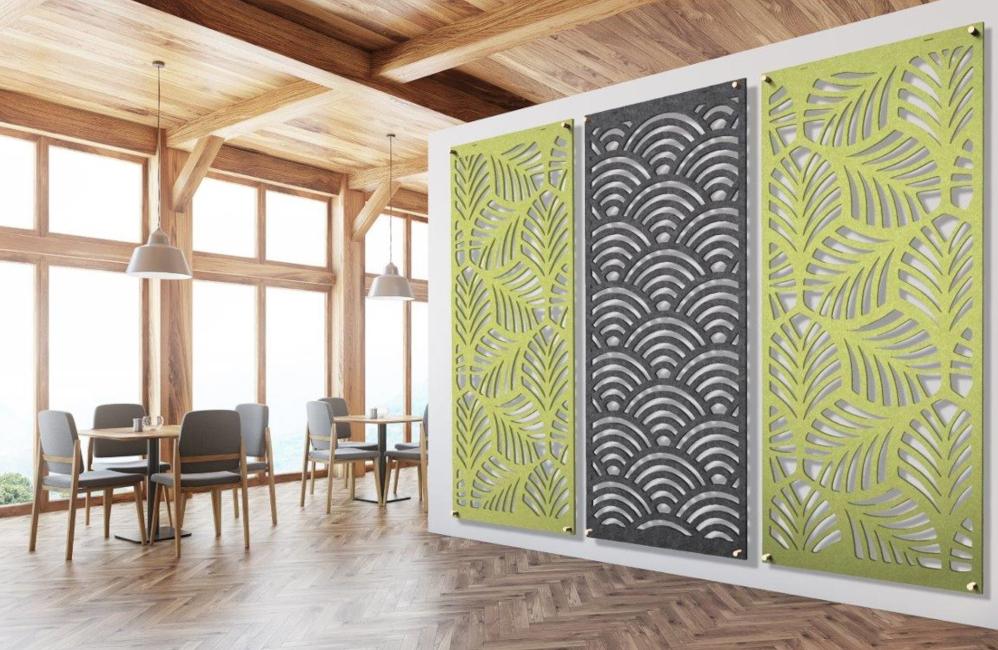 HOLI.E Concept - Aménagement espace de travail - Cloison séparation phonique perforée