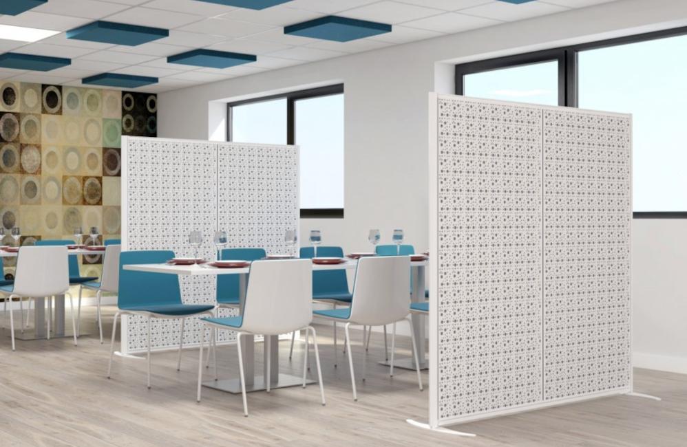 HOLI.E Concept - Aménagement espace de travail - Séparation d'espaces bruit