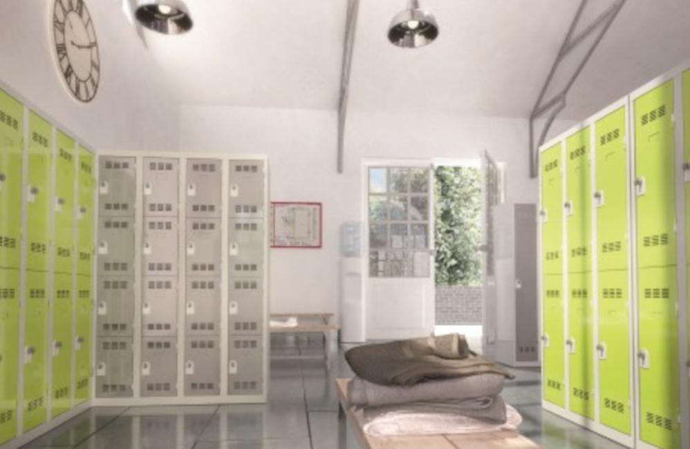 HOLI.E Concept - Aménagement espace de travail - Vestiaire case