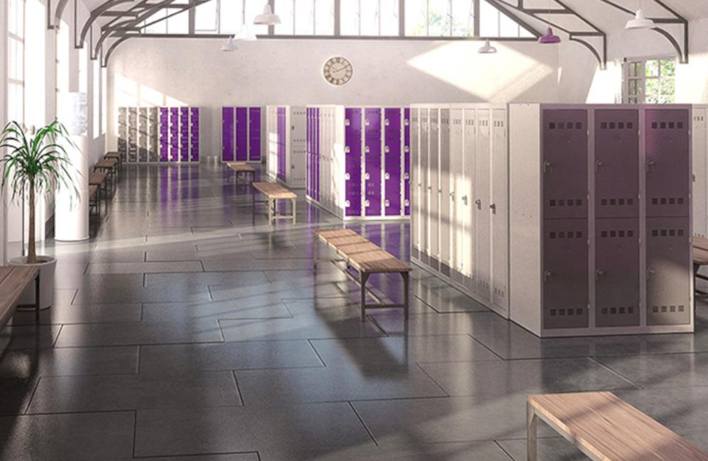 HOLI.E Concept - Aménagement espace de travail - Vestiaire métallique entreprise