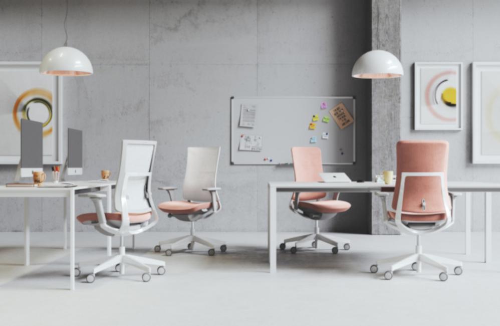 HOLI.E Concept - Aménagement espace de travail - Fauteuil télétravail joli homeoffice
