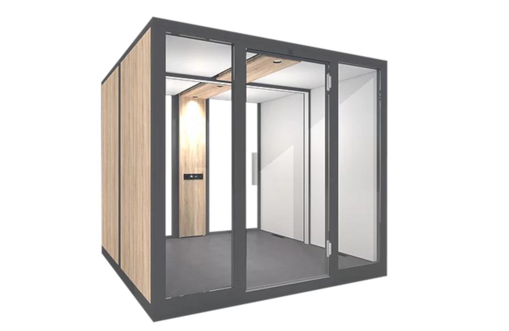 HOLI.E Concept - Aménagement espace de travail - Cabine acoustique réunion