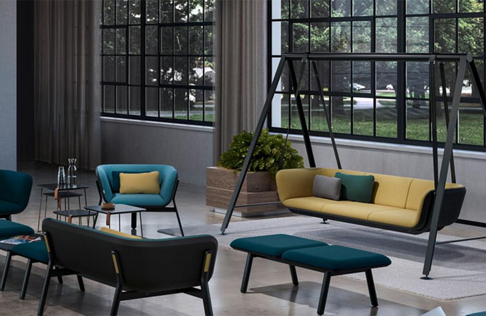 HOLI.E Concept - Aménagement espace de travail - Balancelle interstulh