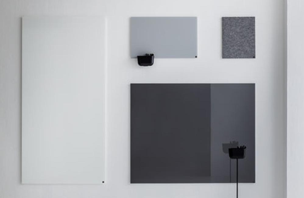 HOLI.E Concept - Aménagement espace de travail - Chat board tableau verre