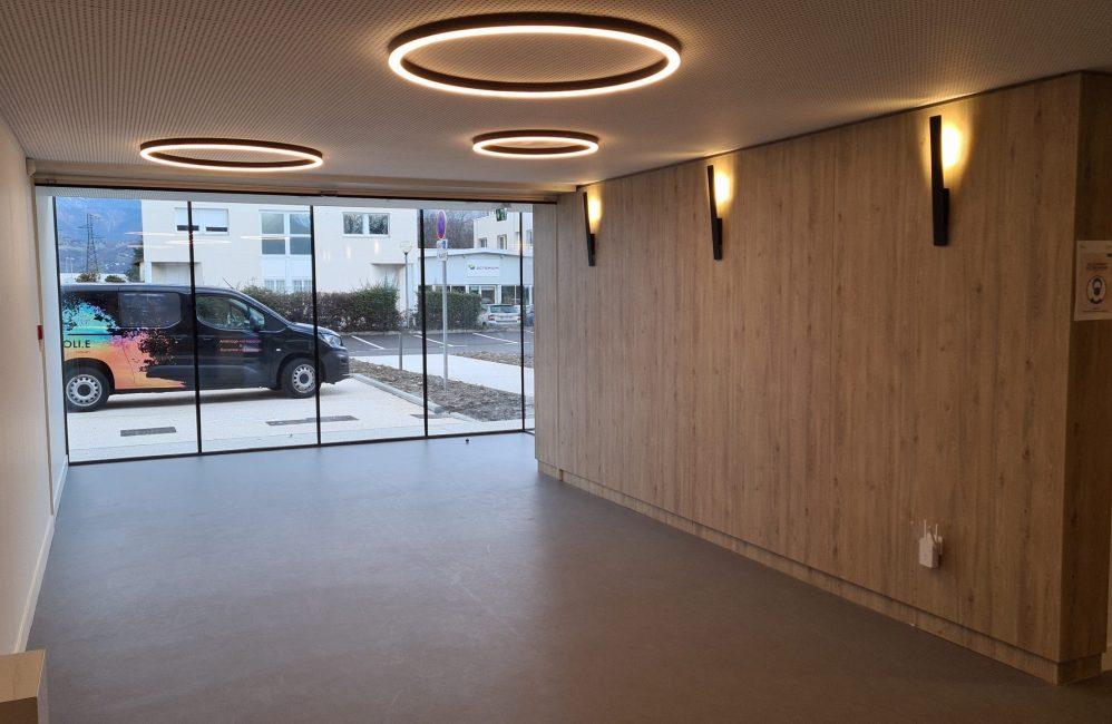 HOLI.E Concept - Aménagement espace de travail - Espace vide : déroulement d'un projet