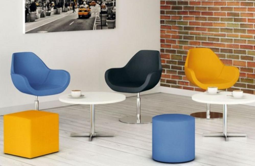 HOLI.E Concept - Aménagement espace de travail - Fauteuil d'accueil bip eol