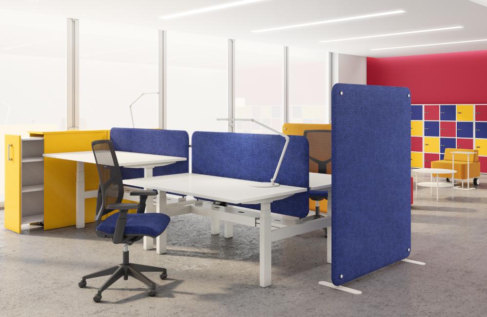 HOLI.E Concept - Aménagement espace de travail - Caisson bureau tiroir extractible