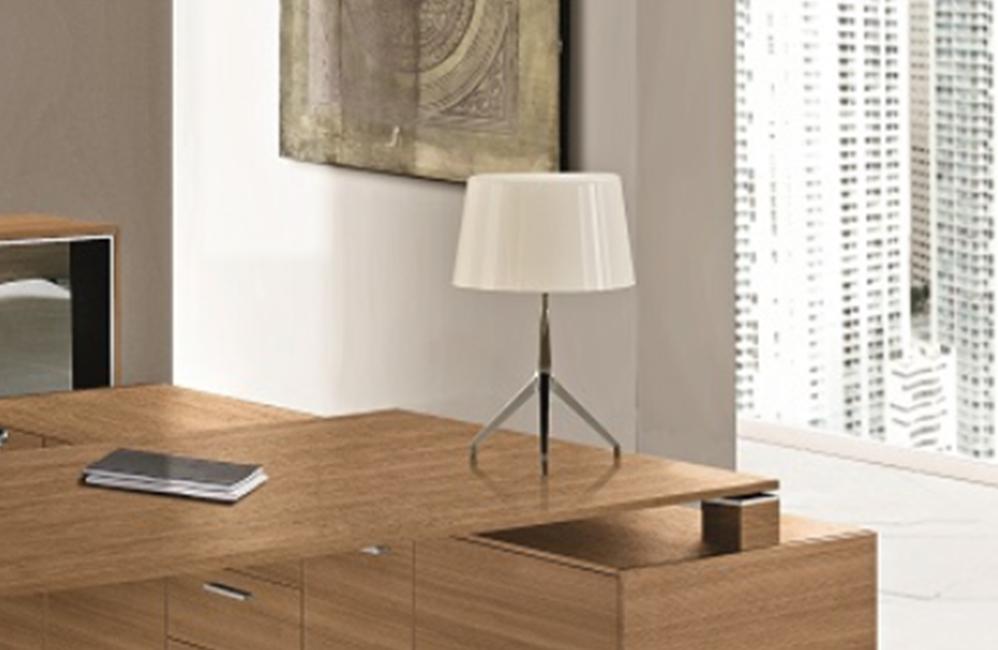 HOLI.E Concept - Aménagement espace de travail - Lampe a chapeau