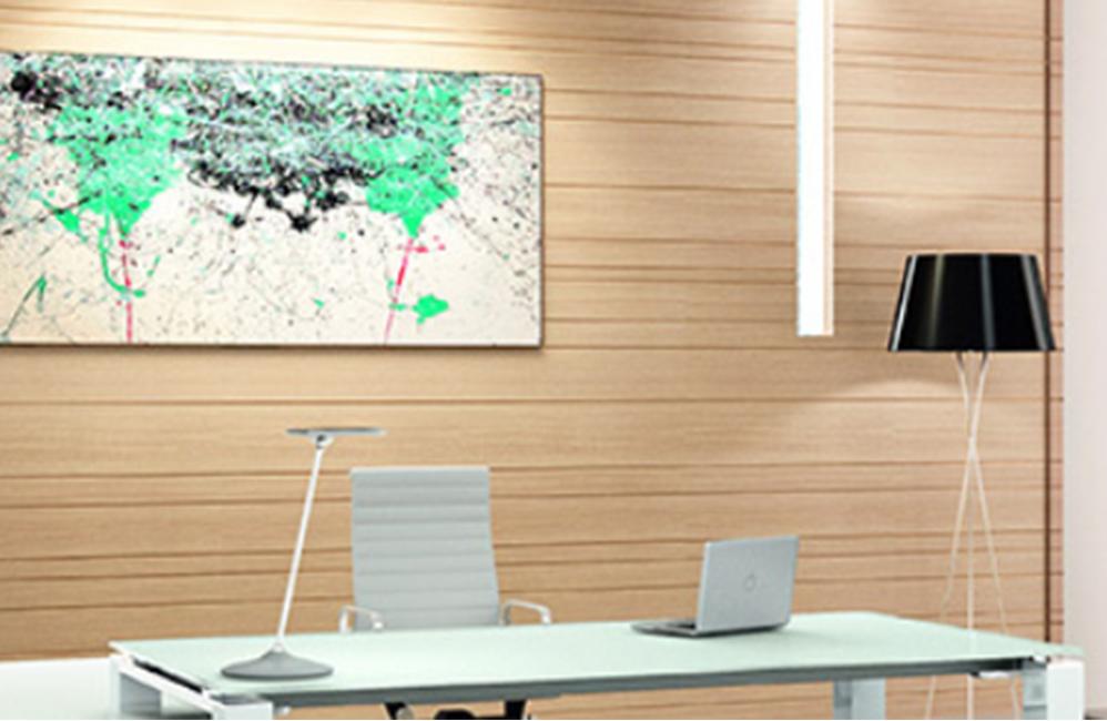 HOLI.E Concept - Aménagement espace de travail - Lampe socle rond